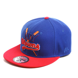NLBM - Indianapolis Clowns - Fitted Cap - HATCOcaps.com