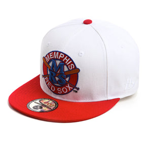 NLBM - Memphis Red Sox - Fitted Cap - HATCOcaps.com