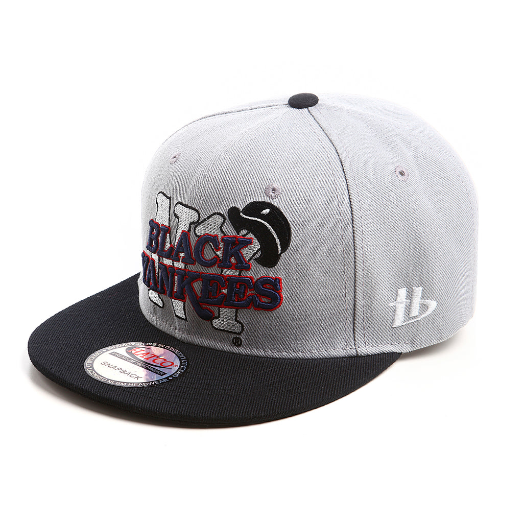 NLBM - New York Black Yankees - Snapback Cap - HATCOcaps.com  - 2