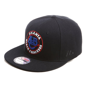 NLBM - Atlanta Black Crackers - Snapback Cap - HATCOcaps.com  - 2