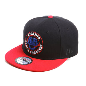 NLBM - Atlanta Black Crackers - Snapback Cap - HATCOcaps.com  - 1
