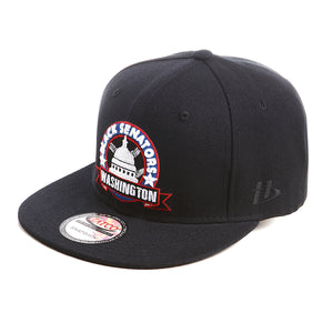 NLBM - Washington Black Senators - Snapback Cap - HATCOcaps.com  - 1