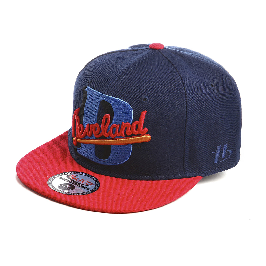 NLBM - Cleveland Buckeyes - Fitted Cap - HATCOcaps.com