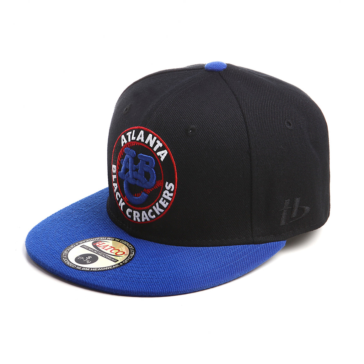 NLBM - Atlanta Black Crackers - Fitted Cap - HATCOcaps.com  - 1