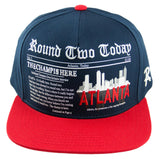 Round Two Today - Atlanta - Snapback Cap - HATCOcaps.com  - 1