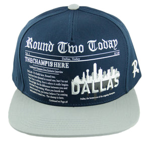 Round Two Today - Dallas - Snapback Cap - HATCOcaps.com  - 1