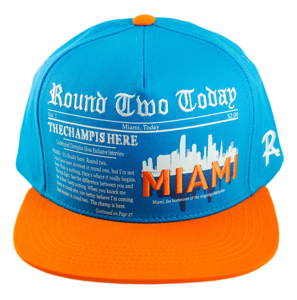 Round Two Today - Miami - Snapback Cap - HATCOcaps.com  - 1