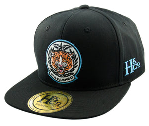 Unleashed Tiger Snapback Cap - Black - HATCOcaps.com  - 1