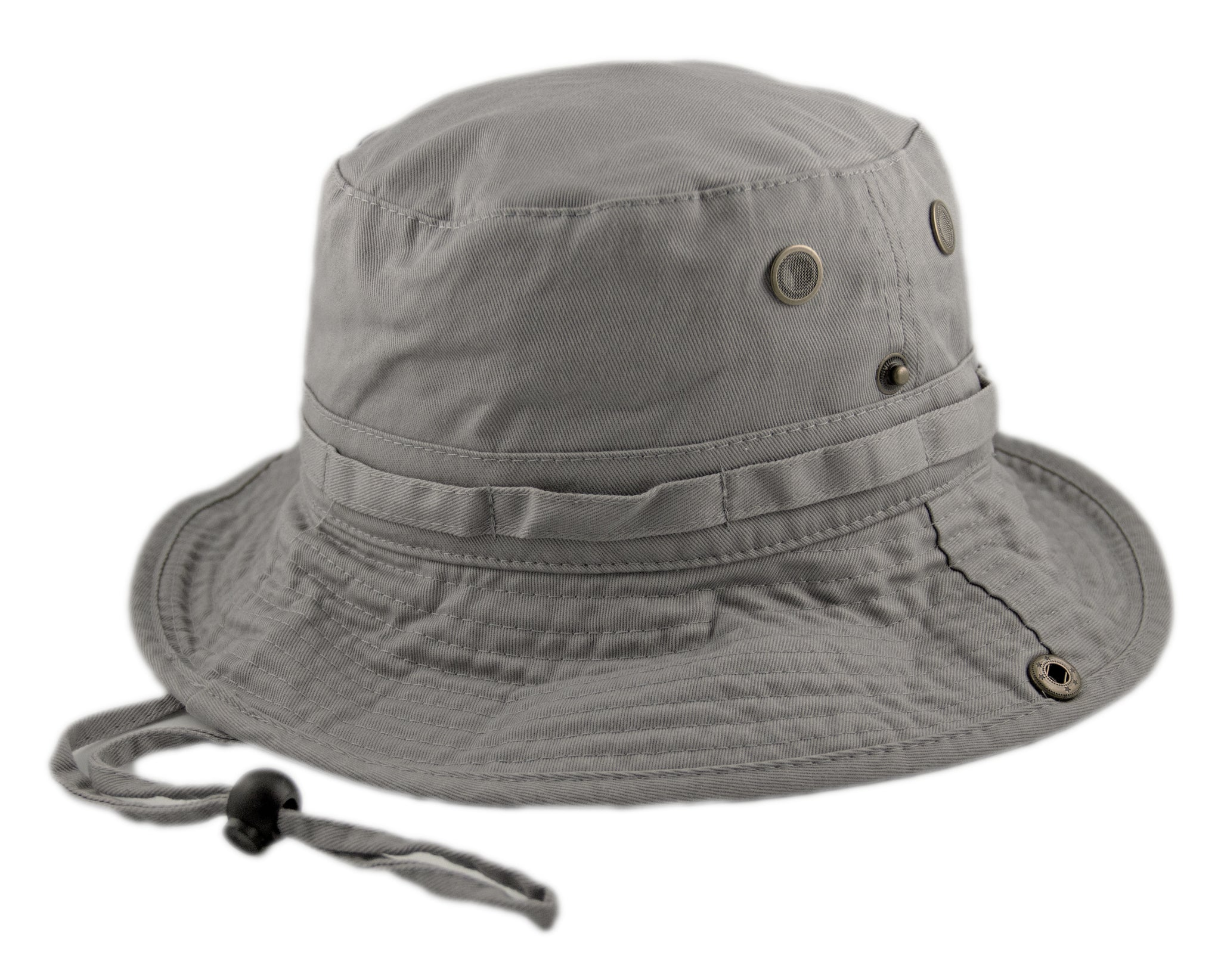 Boonie Hat - Light Grey - HATCOcaps.com f847bd85c1b