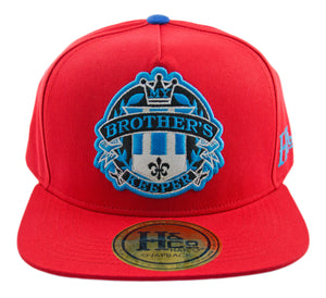 My Brother's Keeper Strapback Cap - Red/Blue - HATCOcaps.com  - 2