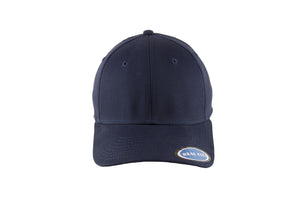 Blank Stretch Fit Cap - Real Fit - Navy - HATCOcaps.com  - 3