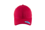 Blank Stretch Fit Cap - Real Fit - Red - HATCOcaps.com  - 2