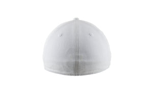 Blank Stretch Fit Cap - Real Fit - White - HATCOcaps.com  - 2