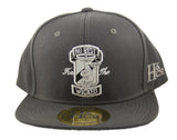 No Rest For The Wicked Snapback Cap - Grey