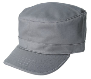 Blank Army Cap - Grey