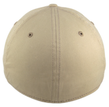 Blank Stretch Fit Cap - Real Fit - Khaki - HATCOcaps.com  - 2