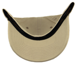 Blank Stretch Fit Cap - Real Fit - Khaki - HATCOcaps.com  - 3