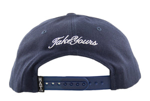 No Rest For The Wicked Snapback Cap - Navy
