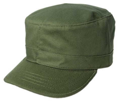 Blank Army Cap - Olive