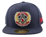 Respect The Architect Snapback Cap - Navy