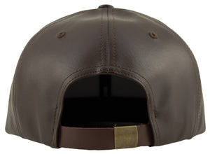 Blank PU Leather Strapback Caps - HATCOcaps.com  - 2