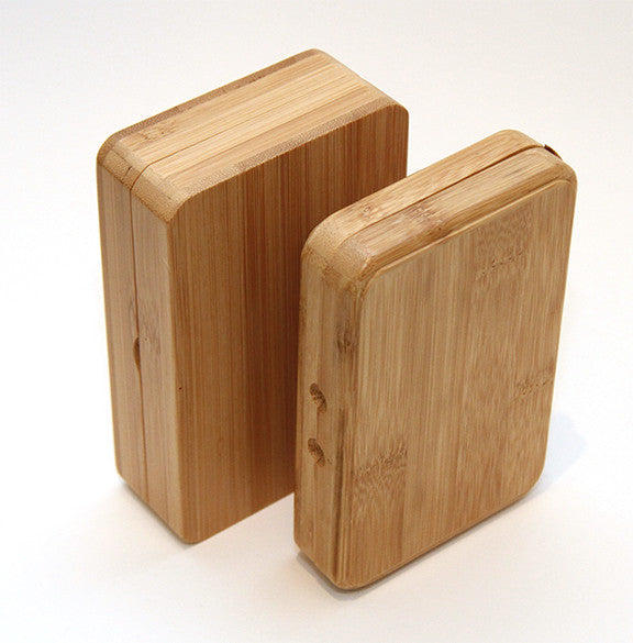 Bamboo fly boxes | split foam both sides or split foam/magnetic compartments