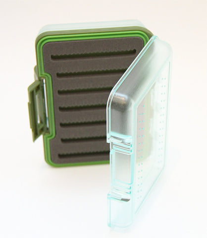 Clear Waterproof Fly Box