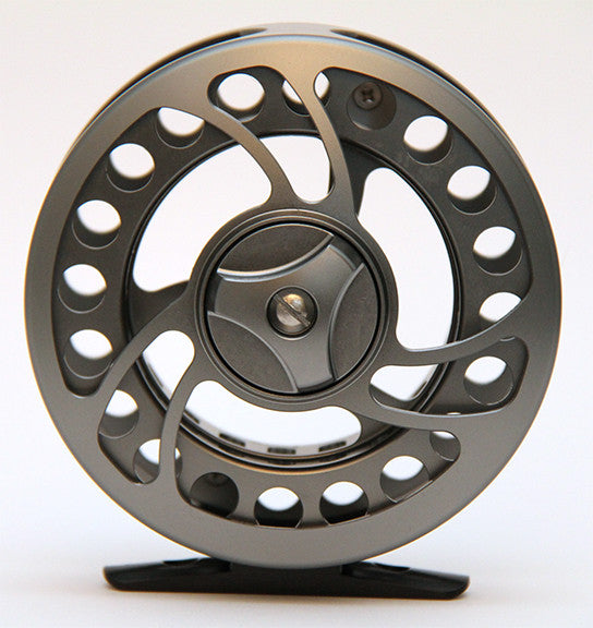 ML Large Arbor Disc Drag Fly Reel 6061 aluminium, delron/cork drag