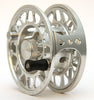Large arbor disc drag sealed fly reel, 6061 aluminium