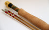 "Bamboo fly rod 3wt 7'6"" with two tips"