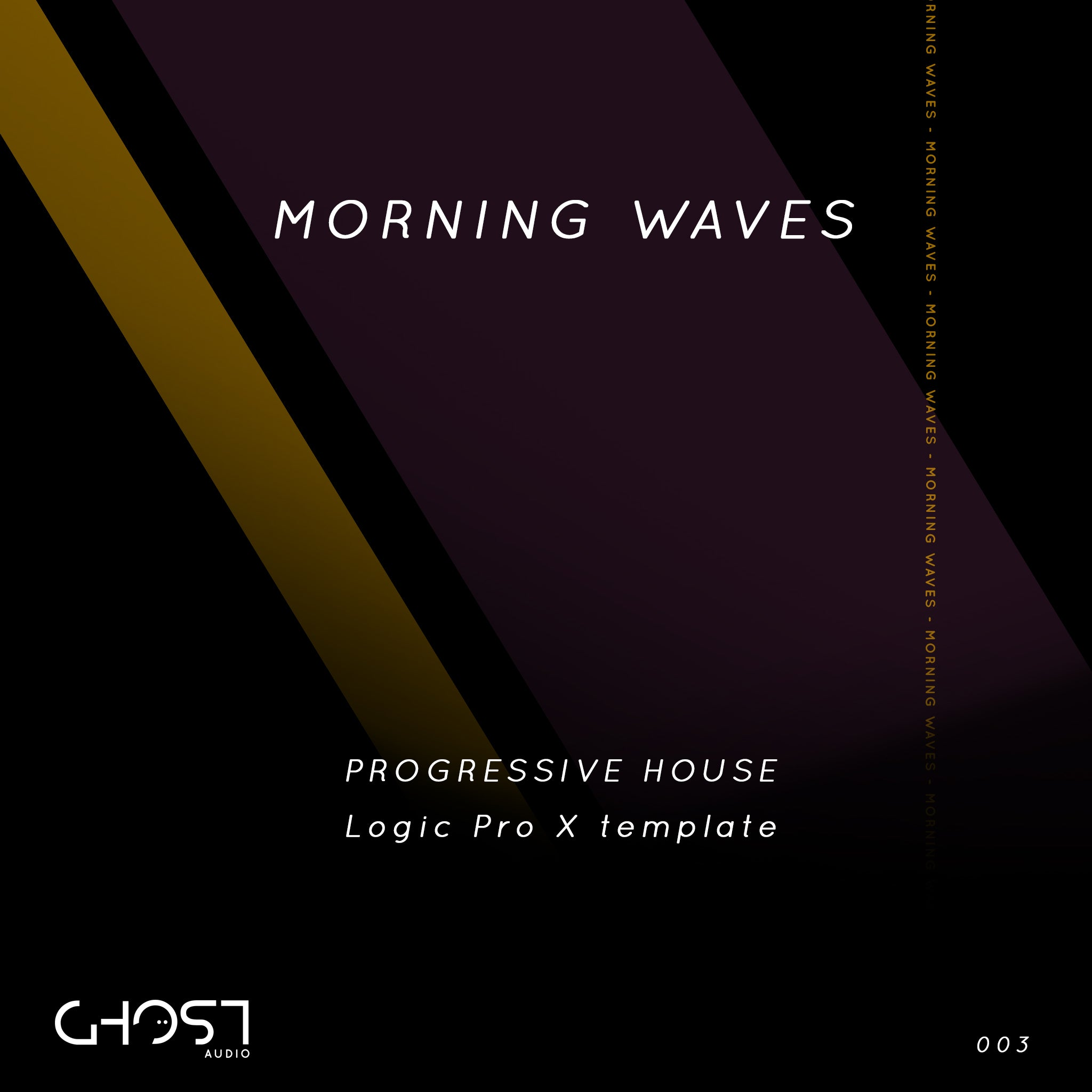 MORNING WAVES - PROGRESSIVE HOUSE ( LOGIC PRO X TEMPLATE )