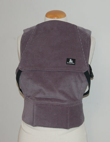 Comfy Cord in grey - Toddler Size Carrier