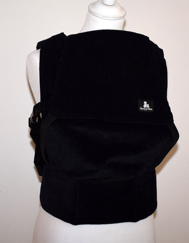 Comfy Cord in black - Toddler Size Carrier