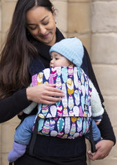 Fabulous Feathers Baby Carrier