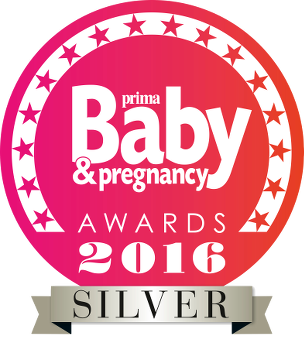Prima Baby and Pregnancy Awards 2016. Silver Award