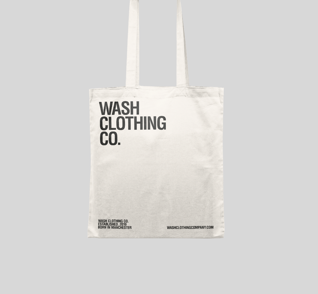 Free Tote Bag from Wash Clothing company