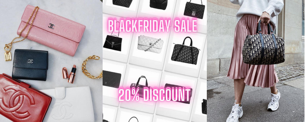 Chanel wallets and Dior Bowling bag Black Friday blog