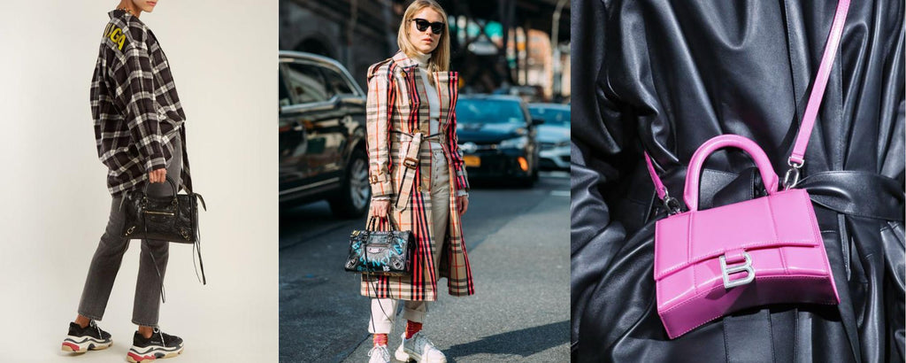 Blog header Balenciaga bags