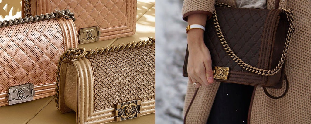 History of the bag: Chanel Boy bag