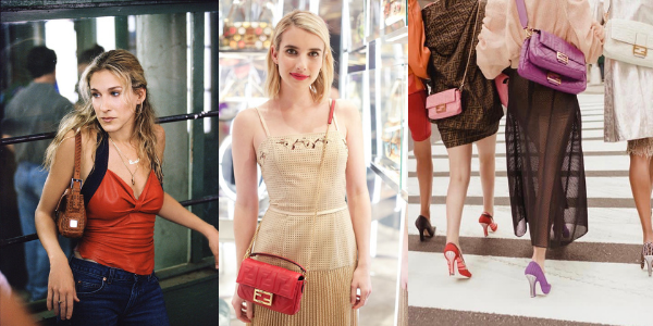 Sarah Jessica Parker, Emma Roberts and street style outfits with the Fendi Baguette