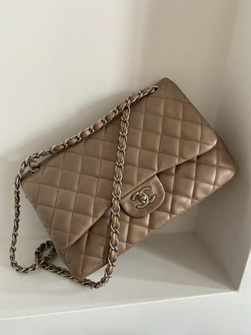 Chanel Classic Flap Bag Metallic (Chanel Limited Edition)