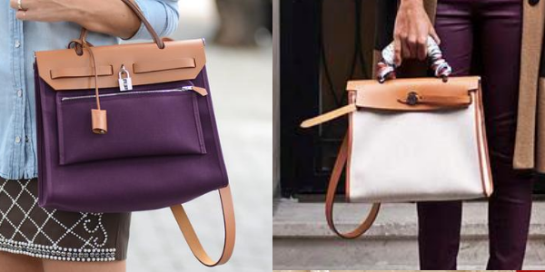 The difference between the original Hermès Herbag and the Herbag Zip