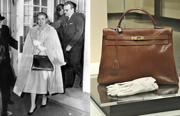 The photograph of Grace Kelly that brought fame to the Kelly bag