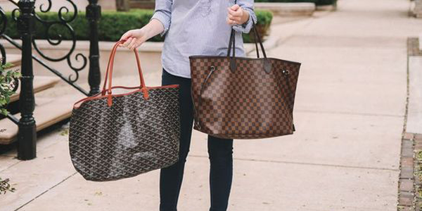 Louis Vuitton Neverfull contra Goyard St. Louis