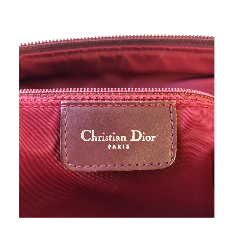 Dior Dior Trotter Messenger Bag red Jacquard Oblique-canvas - Crossbody bags - Etoile Luxury Vintage