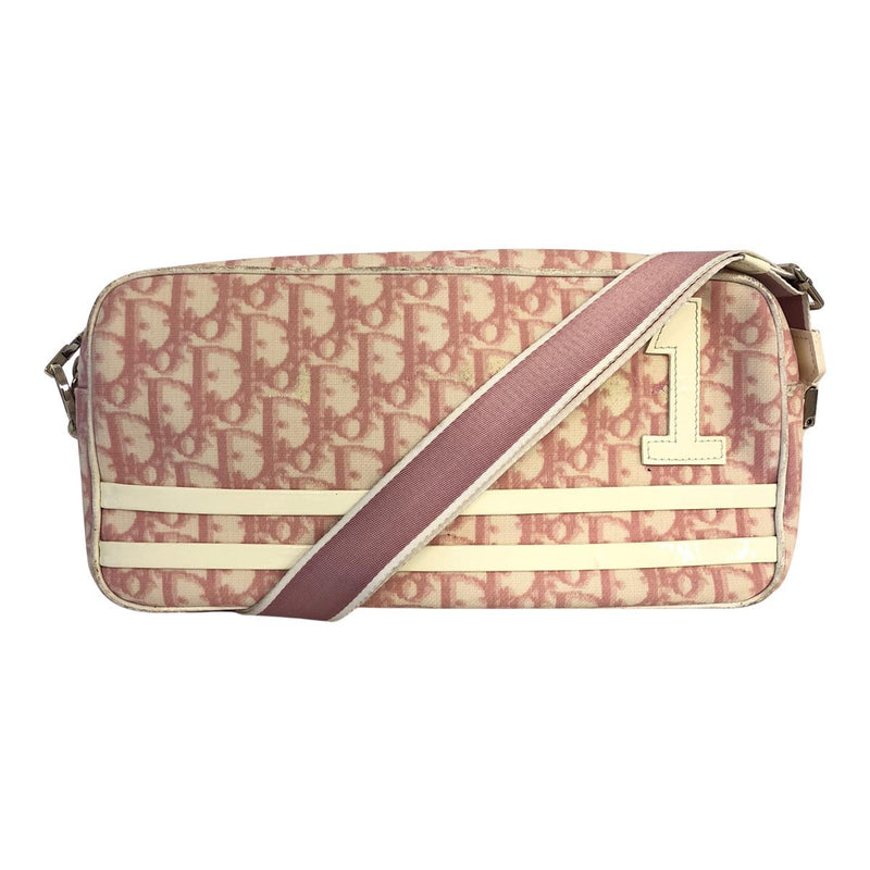 Dior Dior Crossbody Bag pink Coated Oblique-canvas - Crossbody bags - Etoile Luxury Vintage
