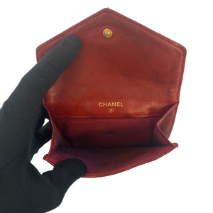 Chanel Chanel Quilted Flap Wallet Compact Coin Purse Quilted Lambskin Leather - Wallets - Etoile Luxury Vintage