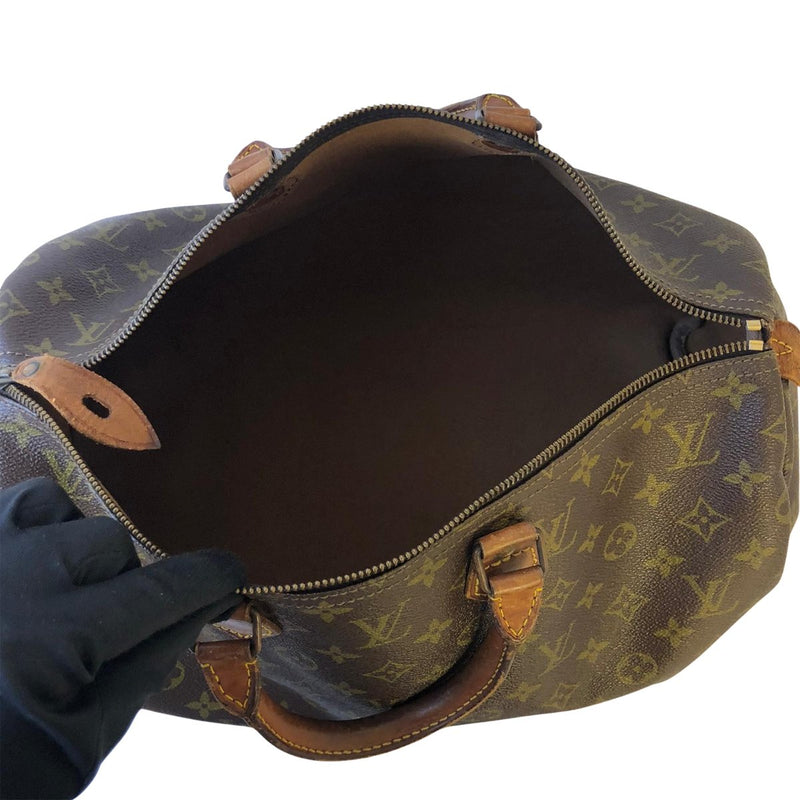 Louis Vuitton Louis Vuitton Speedy 35 Monogram Canvas - Handbags - Etoile Luxury Vintage