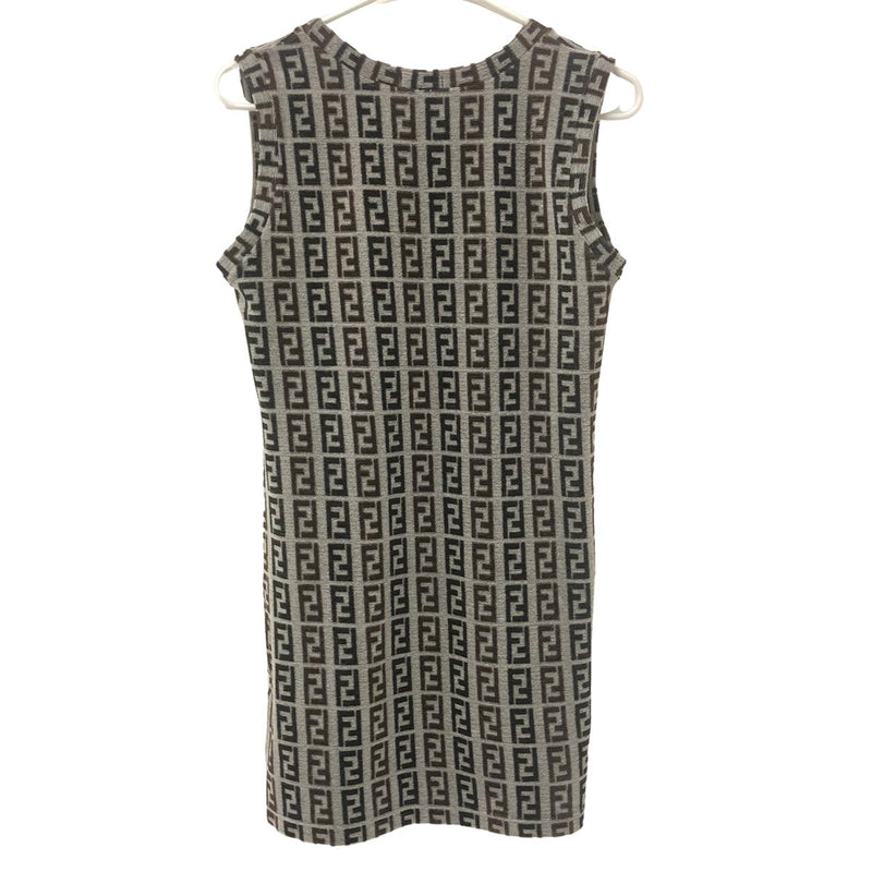 Fendi Fendi Zucchino Dress brown Cotton - Clothing - Etoile Luxury Vintage