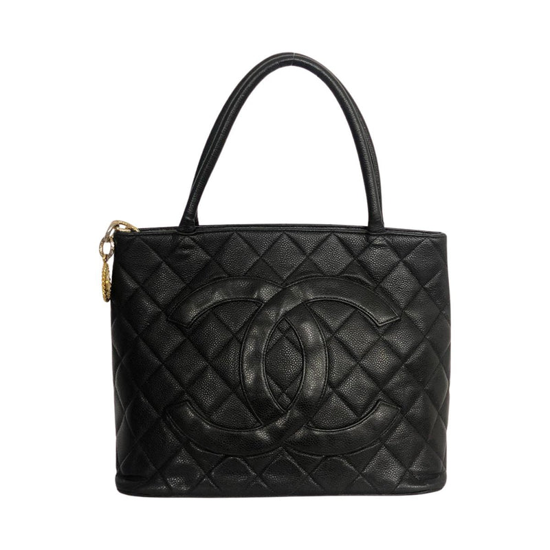 Chanel Chanel Médallion black Lambskin Leather - Shoulder bags - Etoile Luxury Vintage